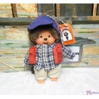 Monchhichi SS Size Plush 15cm Mascot Keychain - Streetway Outdor Boy 吊飾 29296