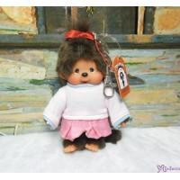 Monchhichi SS Size Plush 15cm Mascot Keychain - Streetway Sporty Girl 吊飾 29297