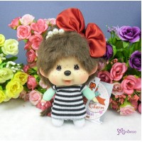 Monchhichi Big Head Plush Marine Key Chain Mascot 大頭 海洋女孩 293890