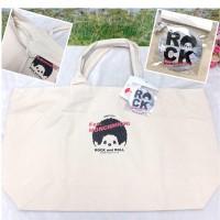 Fes Monchhichi Denim Bag 62 x 35 x 16cm Strap Handbag with Badge 牛仔布袋 (連襟章)  41114