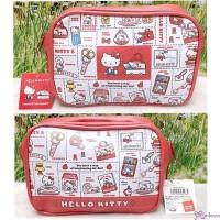 Hello Kitty Hand Bag  18 x 13cm Zipper Bag 460984