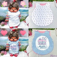 Monchhichi Chimutan 日本製 今治 Large Apron 41x51cm Style M (2pcs) 雙面 圍裙  477098