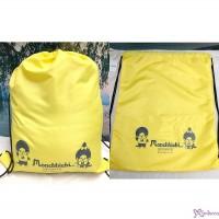 Monchhichi Sport 2020 W42 x H53 Polyester Beach Bag Yellow 沙灘袋 遠足袋 700090
