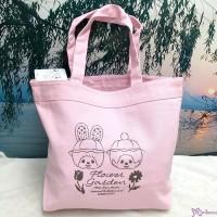 Mon Mon Farm Monchhichi 100% Cotton Handbag Eco Bag Pink 環保袋 布袋 733810