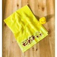 734602 Monchhichi Onsen The BEST Towel Yellow ~~ NEW ~~