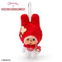 My Melody x Monchhichi 15cm Plush Mascot 7563