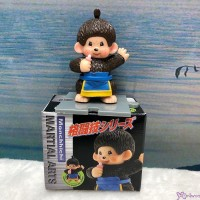 Monchhichi 6cm Mini Figure Fighter 膠公仔 (連底坐) 格鬪技 813530