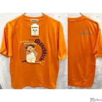 Monchhichi 100% Cotton Fashion Adult Tee Orange M Size 824M-D