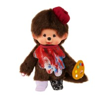 865086 Yohei Sugita x Monchhichi S Size Red and Blue ~ Japan Limited ~ PRE-ORDER ~