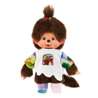 865093 Yohei Sugita x Monchhichi S Size White and Red ~ Japan Limited ~ PRE-ORDER ~