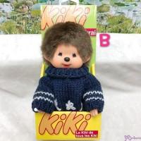 KiKi Monchhichi S Size Plush Blue Knit Fashion Boy 929030-B