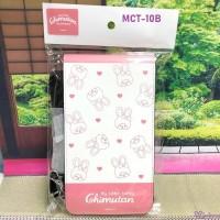 MCT-10B Monchhichi Chimutan Smart Phone Holder Bag White 斜掛 電話袋 (連帶及扣)