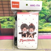 MMC-17A Monchhichi Smart Phone Holder Bag White 斜掛 電話袋 (連帶及扣)