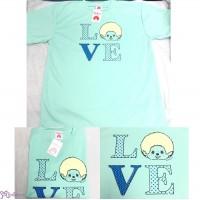 Monchhichi Tennis Sport Tee Adult LOVE GREEN  L Size MOO4145