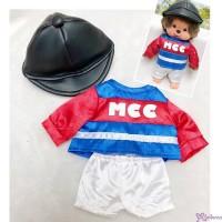 MCC S Size Jockey Fashion Outfit (Helmet) 日本競馬騎師 彩衣 (連帽) RX035-BLK