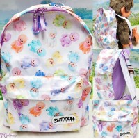 Monchhichi x Outdoor Backpack Bag Color Tone 背囊 背包 SG172