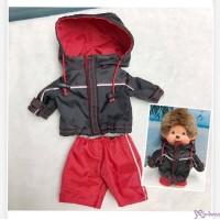 Monchhichi S Size Fashion Sport Coat + Pants Set XA51