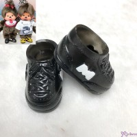 Monchhichi S Size Doll Shoes Sneaker Black 正版 運動鞋仔 XA57-A