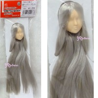 27HD-F01WC18 Obitsu 24-27cm Female Doll Head 01 Long GOLD Hair Wig White Skin