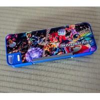 254226 Mario Kart Japan Mechanical Pen Case Stationery Pencil Box ~ Made in Japan ~