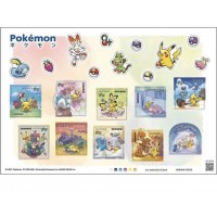 SJP81839 【日本直送】日本郵政 x 比卡超 Pokeman  限定郵票