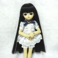WM45-02-BK Yo-SD Cojoo Long Straight Heat Resistant Wig Black
