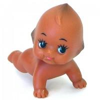 Obitsu Kewpie Baby 5cm Crawn  丘比娃娃 小天使 爬行 炭燒色 QP-H050-TX1