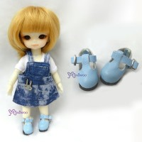 Middie B 2.2cm Doll Shoes Blue SBB002BLE