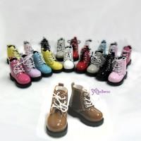 SHM049LBN MSD Bjd Obitsu 60cm Doll Boots High Hill Shoes Lt.BRN