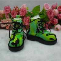 SHM077GRN MSD OB 60cm Bjd Doll High Hill Shoes Army Green