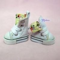 1/6 Bjd Neo B Denim MICRO Shoes Folded Boots White SHP188WHE