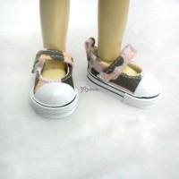 Yo-SD bjd Doll MCC Maryjane Denim Shoes Hiking Pink SHU052WPK
