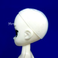 """WCM002 5-6"""" Silicon Wig Cap for Doll Head Protection Cover"""