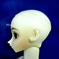 "WCM005 9-10"" Silicon Wig Cap for SD Doll Head Protection Cover"