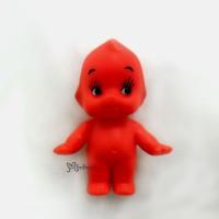 WSB003RED Kewpie Baby 5cm Tall Mini Figure 丘比娃娃 站立 紅