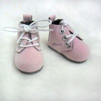 Mimi Collection 4cm Doll Shoes Velvet Pink fit Monchhichi S Size YK01PNK